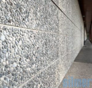 Vorgefertigte Platten – Pebble Wall